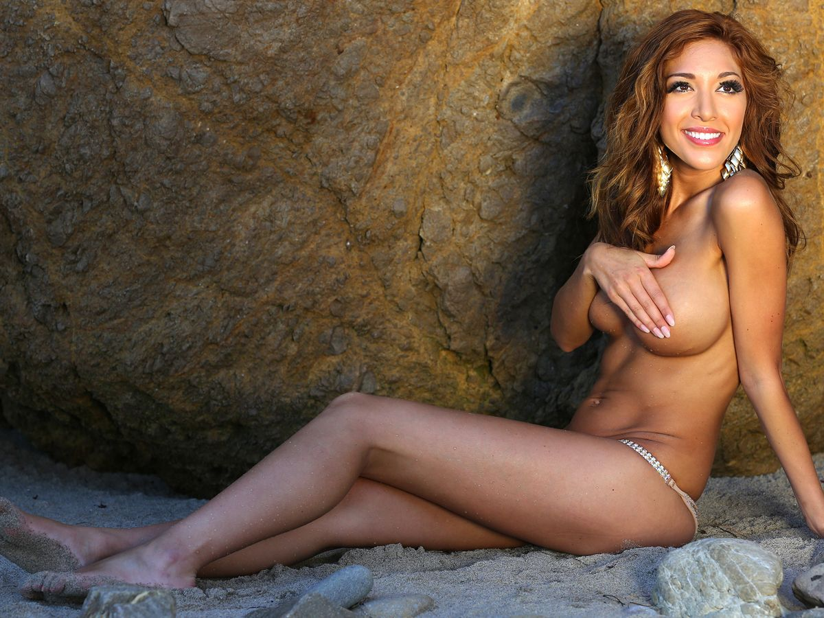 Teen Mom Farrah Abraham's First Time Masturbation With New Pussy On Camsoda
